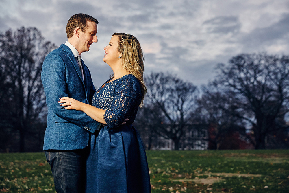 Downtown Washington Avenue Lafayette Square Planters House Engagement Session by St Louis Wedding Photographers Oldani Photography