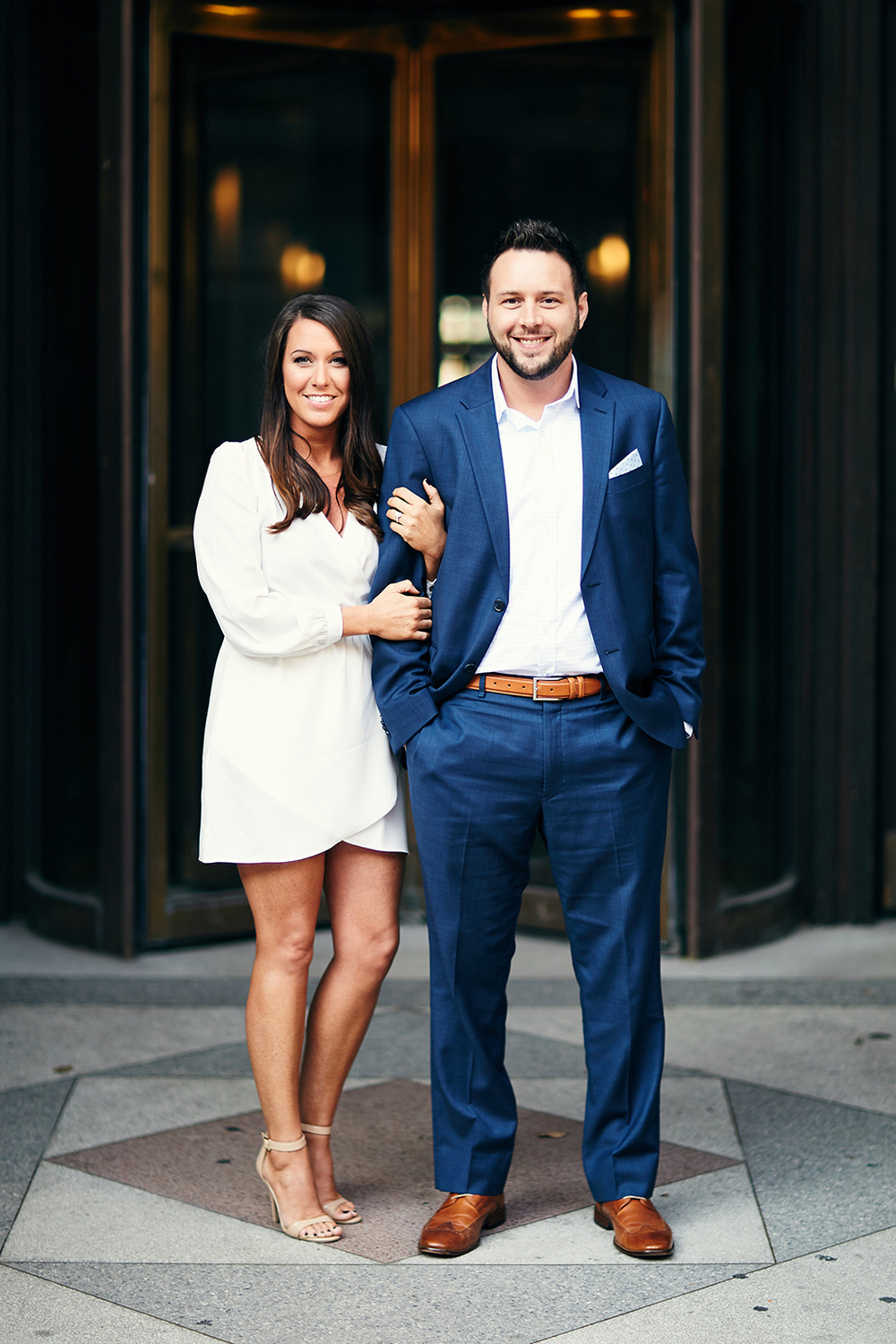 Downtown Washington Avenue Forest Park Engagement Session by St Louis Wedding Photographers Oldani Photography 4.jpg
