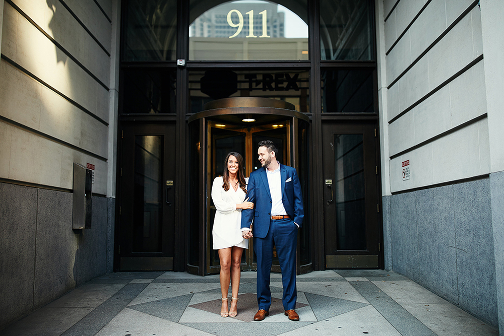 Downtown Washington Avenue Forest Park Engagement Session by St Louis Wedding Photographers Oldani Photography 1.jpg