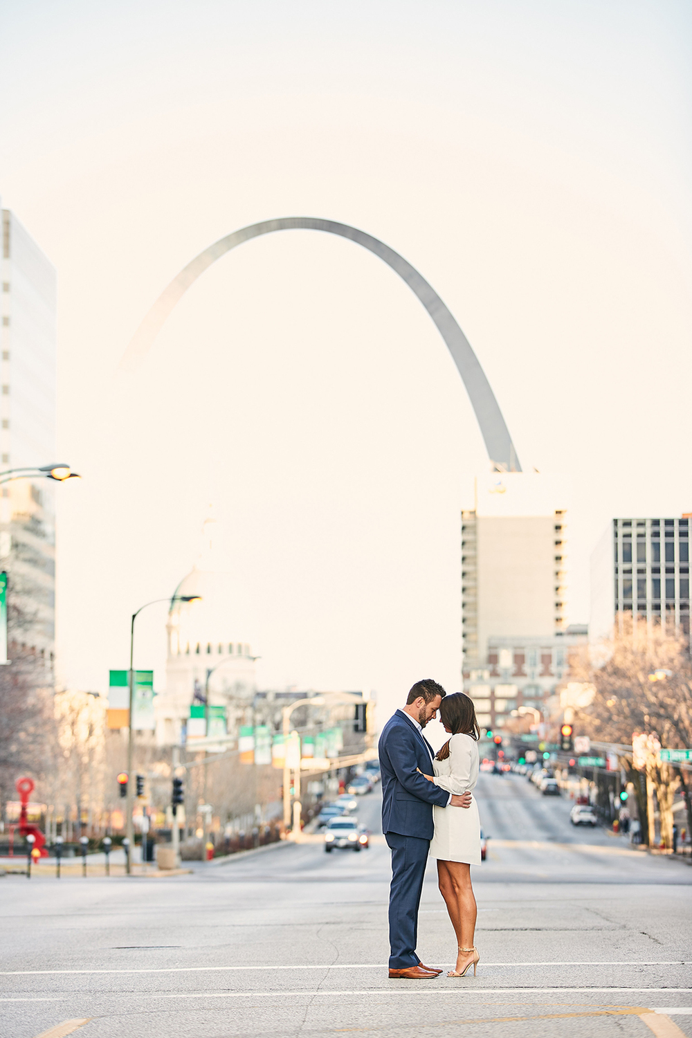 Downtown Washington Avenue Forest Park Engagement Session by St Louis Wedding Photographers Oldani Photography 16.jpg