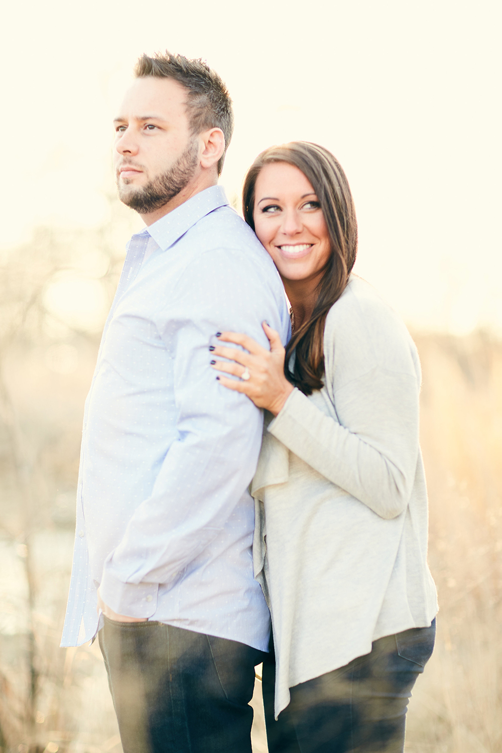 Downtown Washington Avenue Forest Park Engagement Session by St Louis Wedding Photographers Oldani Photography 22.jpg