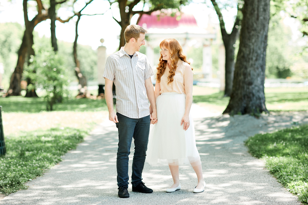Tower Grove Park St Louis Engagement Session by Oldani Photography St. Louis Wedding Photographers