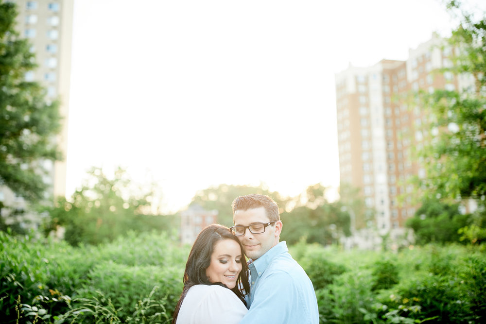 Forest Park and Old Post Office Engagement Photos Downtown by Oldani Photography St Louis Wedding Photographers