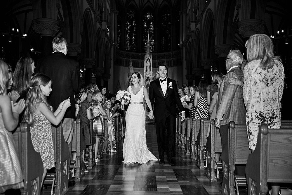 St Francis Xavier College Church Wedding and Windows on Washington Reception by Oldani Photography St Louis Wedding Photographers