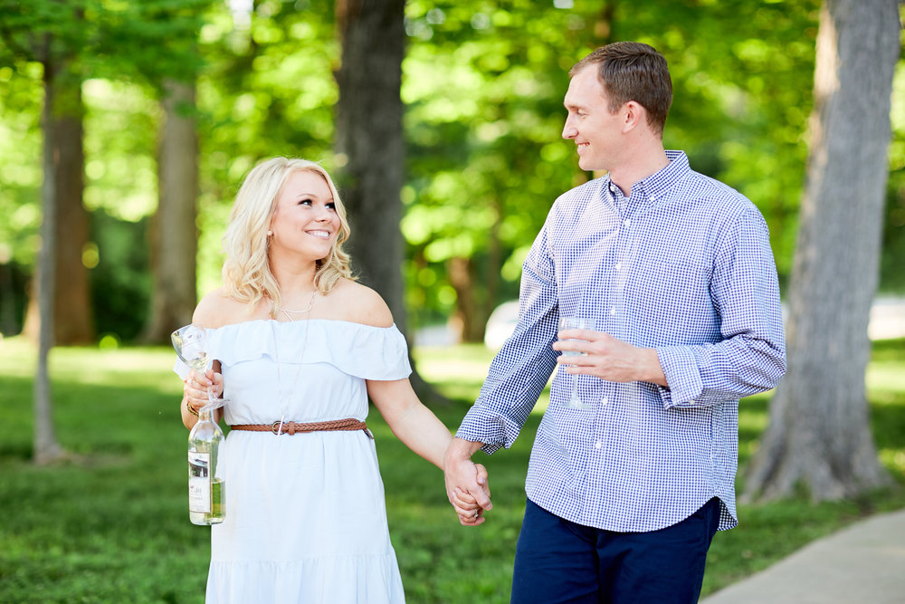 Hidden Valley Winery Engagement Session by Oldani Photography St Louis Wedding Photographers