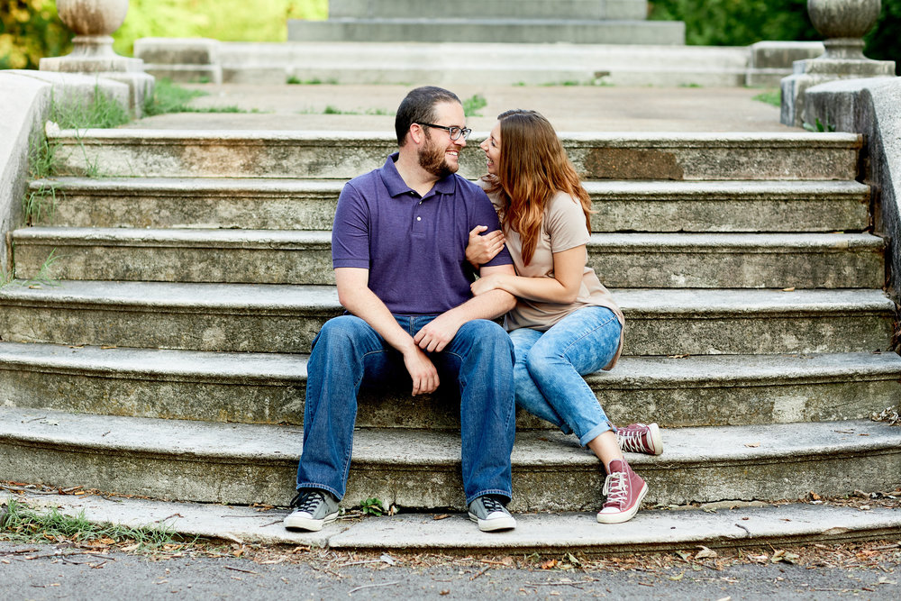 Lafayette Park Engagement Session by Oldani Photography St. Louis Wedding Photographers