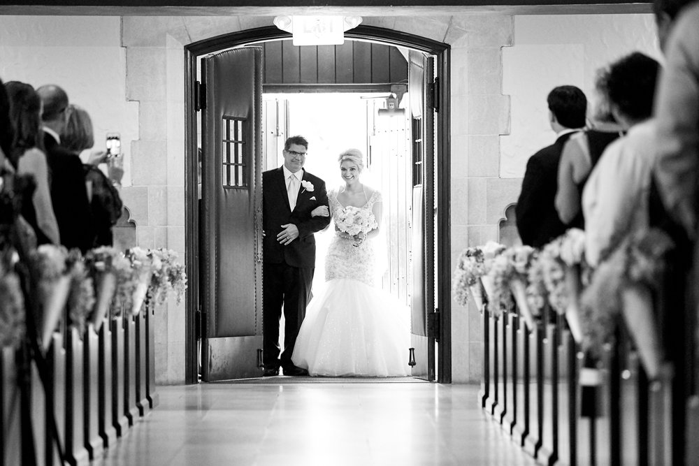 Our Lady of Lourdes Wedding and Bissinger's Caramel Room Reception by Oldani Photography St. Louis Wedding Photographers