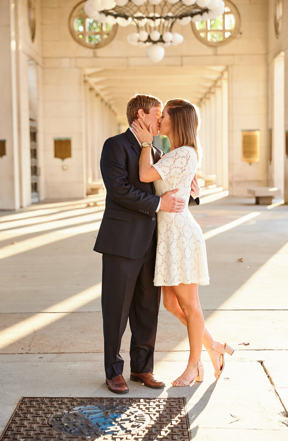 Forest Park History Museum Engagement Photos by St Louis Wedding Photographers Oldani Photography