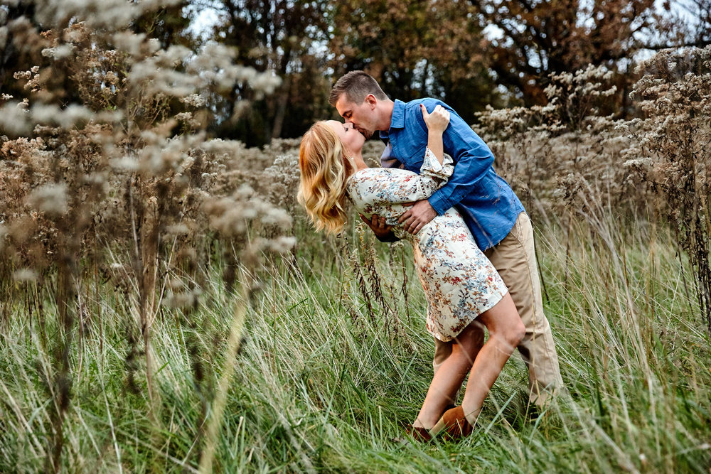 Bowling Green Engagement Photos by St Louis Wedding Photographers Oldani Photography