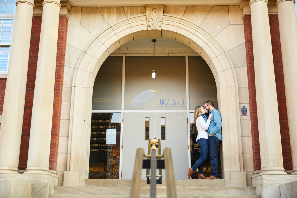 University of Kentucky Lexington Campus Alumni Engagement Photos by St Louis Wedding Photographers Oldani Photography 0 045.jpg
