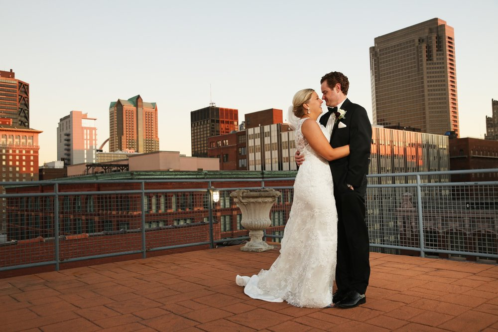 Old Cathedral Wedding and Windows on Washington Reception by St Louis Wedding Photographers Oldani Photography