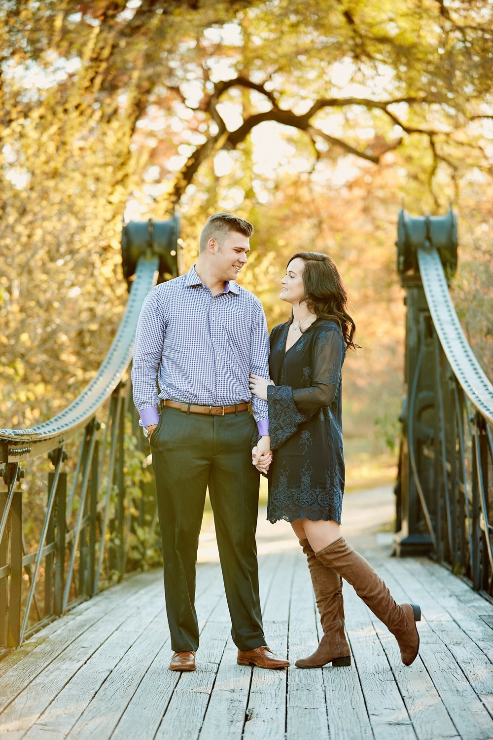 Forest Park Engagement Photos by St Louis Wedding Photographers Oldani Photography