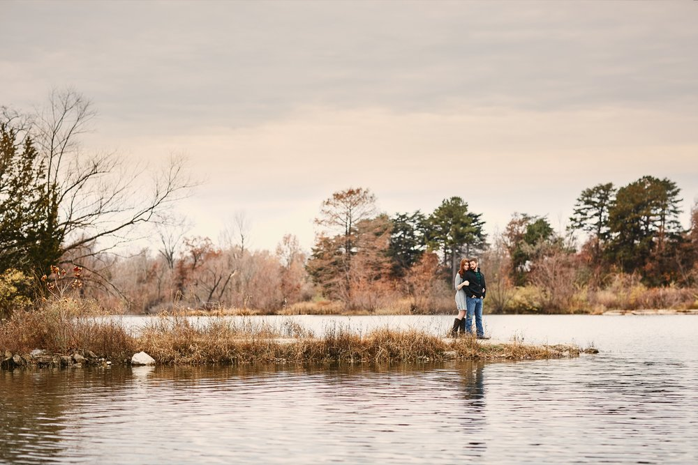 Busch Wildlife Engagement Photographs by St Louis Wedding Photographers Oldani Photography