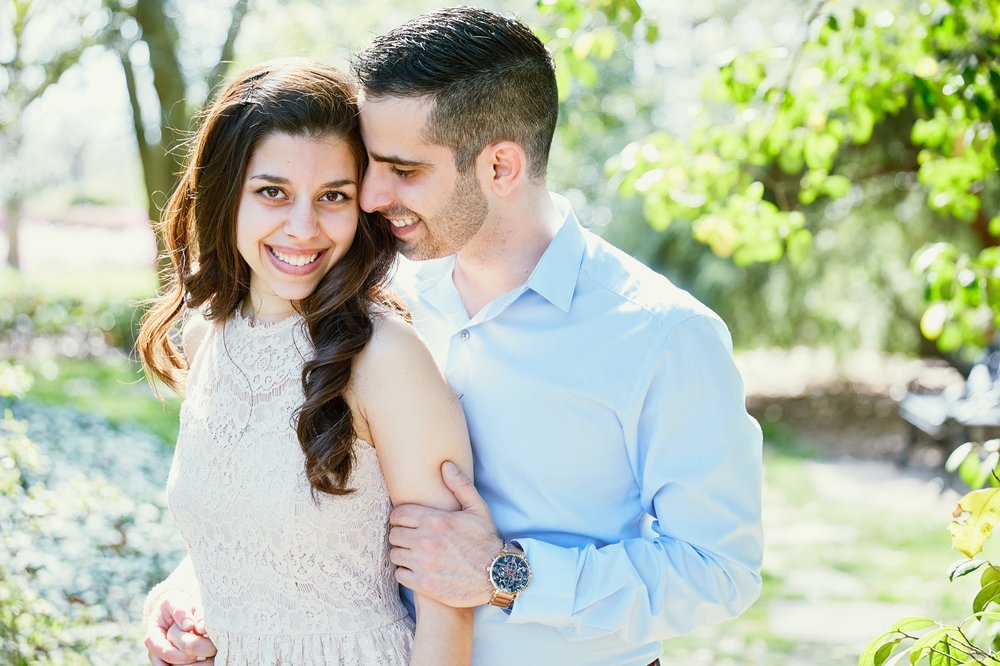 MOBOT Missouri Botanical Gardens Engagement Session Photographs by St Louis Wedding Photographers Oldani Photography 60.jpg