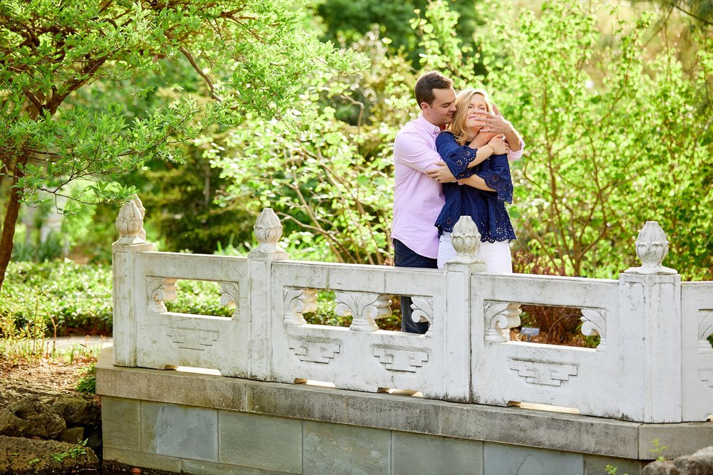 MOBOT Missouri Botanical Gardens Engagement Session Photos and Photographs by St Louis Wedding Photographers Oldani Photography