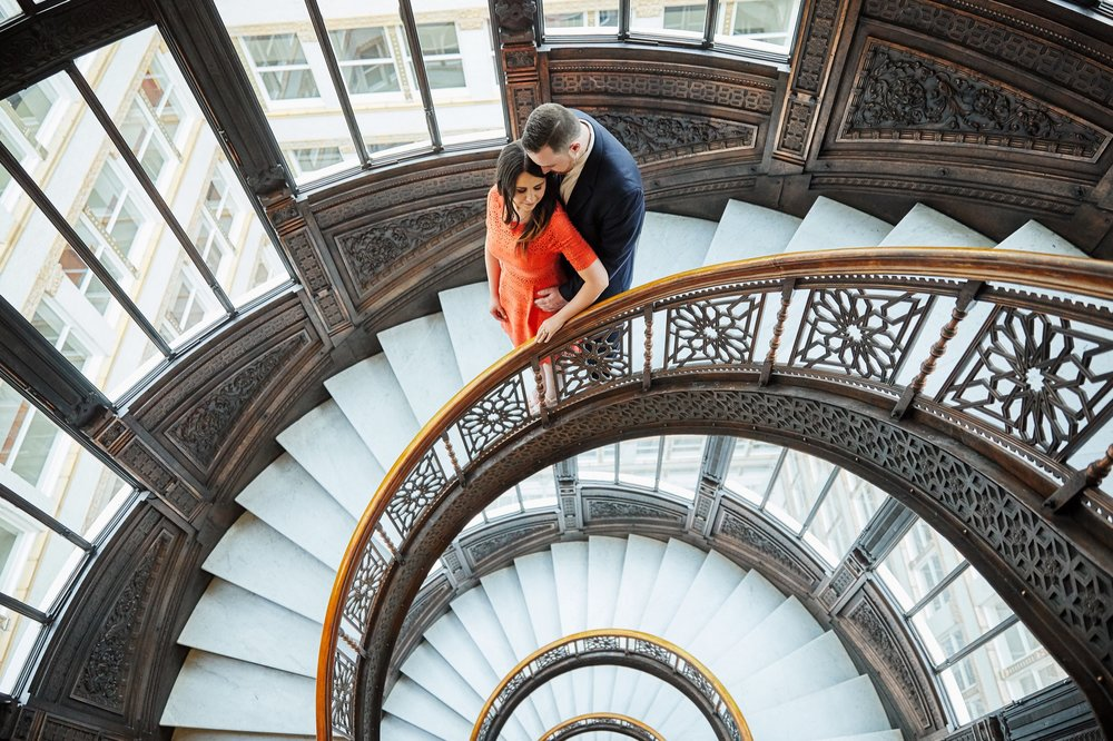 The Rookery Engagement Photos and Chicago Photographs by St Louis Wedding Photographers Oldani Photography