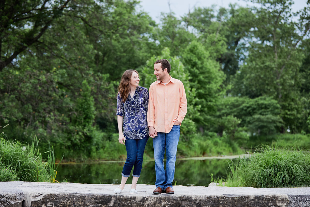 Forest Park Engagement Session Photos and Photographs by St Louis Wedding Photographers Oldani Photography