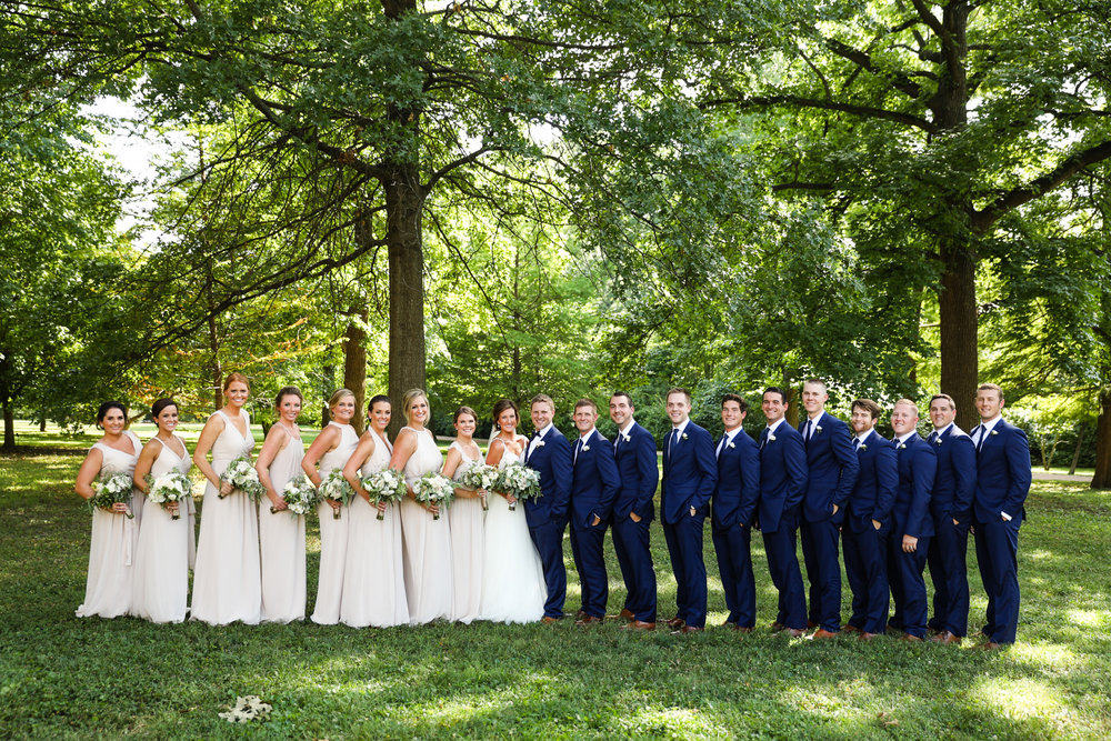 Shrine of St Joseph Wedding and Windows on Washington Reception photos by St Louis Wedding Photographers TJ and Nichole Oldani Photography