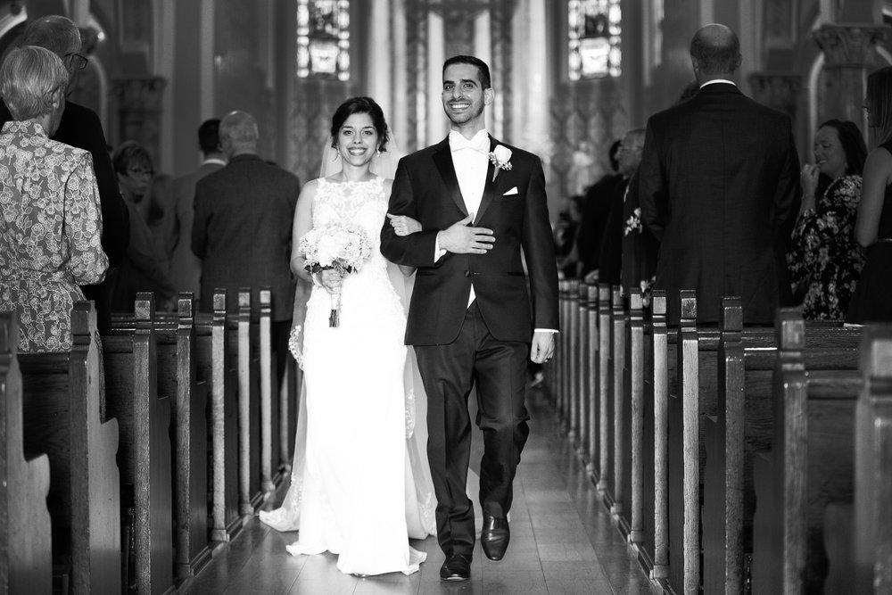 St Ambrose Catholic Wedding on The Hill and Reception at The Cedars in St Louis MO photos by St Louis Wedding Photographers TJ and Nichole Oldani Photography