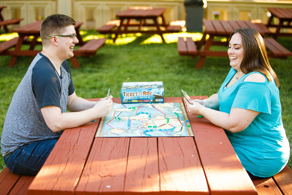 Busch Stadium and Forest Park Engagement Photos by St Louis Wedding Photographers and Videographers Oldani Photography 10.jpg