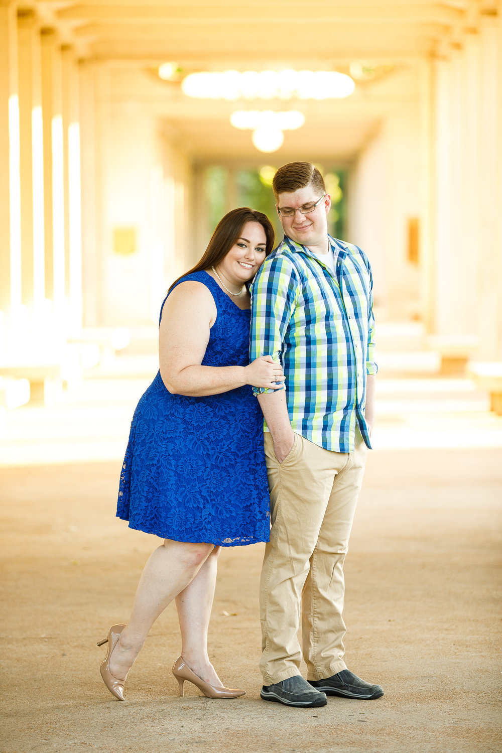 Busch Stadium and Forest Park Engagement Photos by St Louis Wedding Photographers and Videographers Oldani Photography 25.jpg