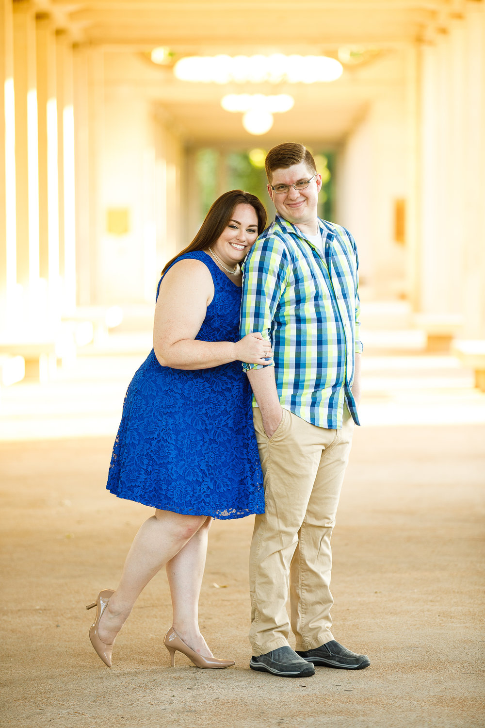 Busch Stadium and Forest Park Engagement Photos by St Louis Wedding Photographers and Videographers Oldani Photography 26.jpg