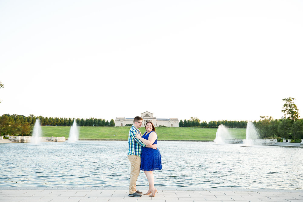 Busch Stadium and Forest Park Engagement Photos by St Louis Wedding Photographers and Videographers Oldani Photography 40.jpg