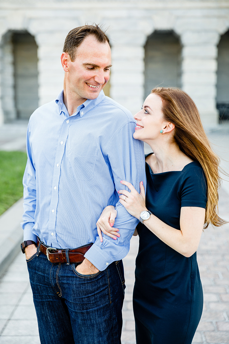 Washington DC and Georgetown Engagement Photos by St Louis Wedding Photographers and Videographers Oldani Photography 1.jpg