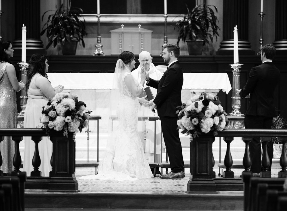 Old Cathedral Wedding and Lumen Private Event Space Reception Photos by St Louis Wedding Photographers and Videographers Oldani Photography 31.jpg