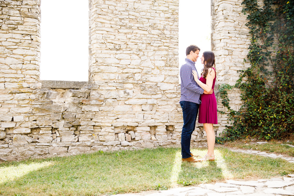 Old Baum Church and Valmeyer Engagement Photos by St Louis Wedding Photographers and Videographers Oldani Photography