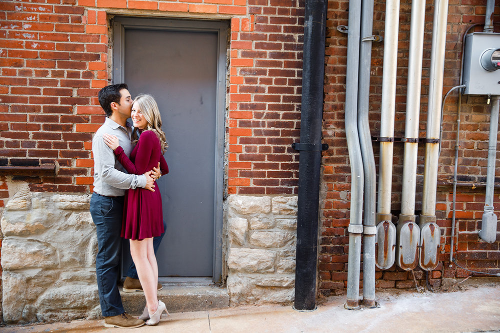 Columbia Mizzou Columns Engagement Photos by St Louis Wedding Photographers and Videographers Oldani Photography