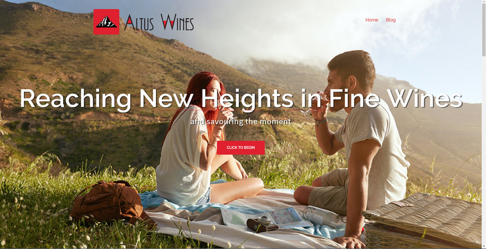 ALTUS WINES WEBSITE DESIGN + INTEGRATION