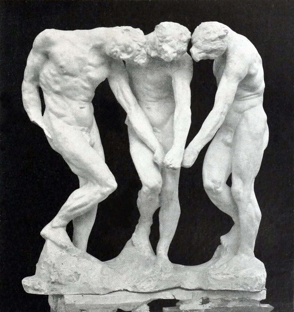Auguste_Rodin,_The_three_shades_(Les_Trois_Ombres),_for_the_top_of_The_Gates_of_Hell,_before_1886,_plaster.jpg