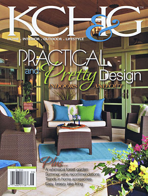 Kansas CIty Home & Garden   —  The furniture we created for this interior design project was highlighted in the feature article.