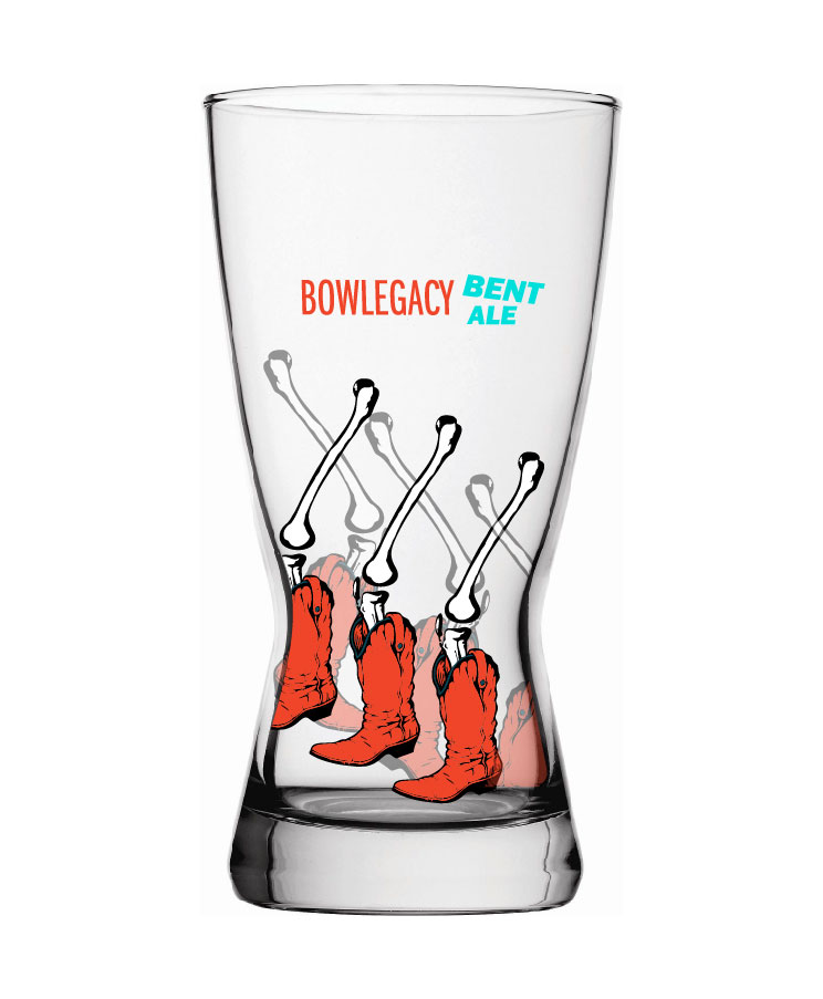 Pint glass application