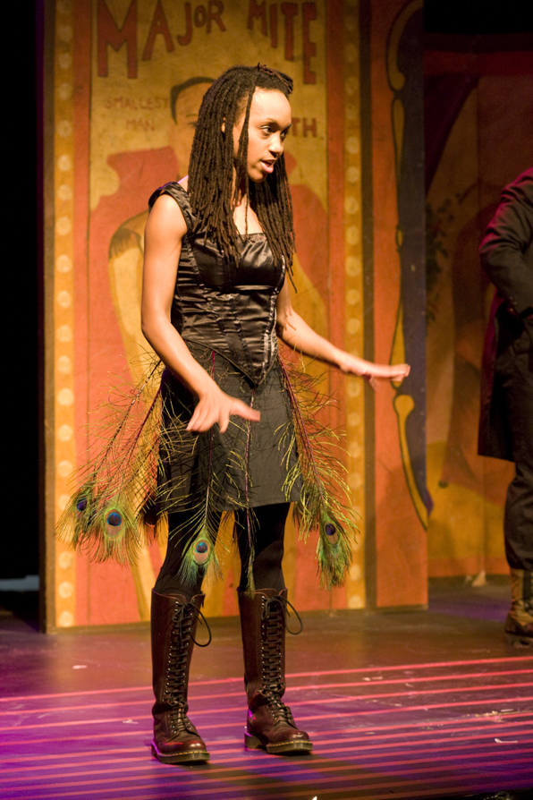 "Robin JaVonne Smith in ""Tales of the Midnight Carnival"" by Peter Cavell"