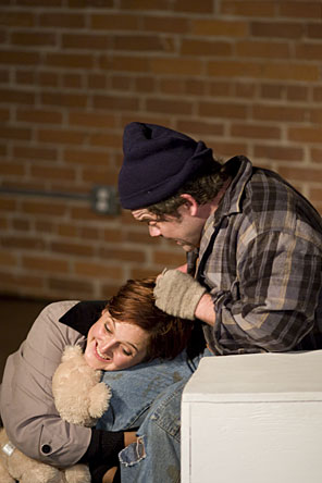 """Sammy's Game""  Rachel Garis as Samantha and Allen Phelps as Joseph"