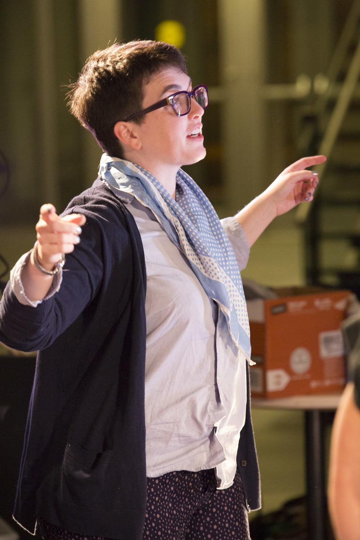 Director Caitlin Lowans