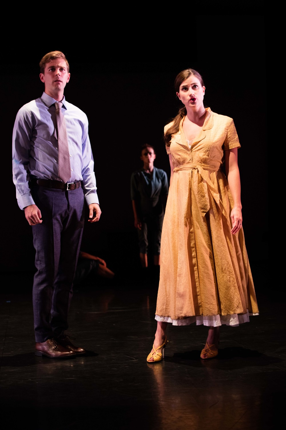 Patrick Massey and Anna Ward/photo by Daniel J. van Ackere