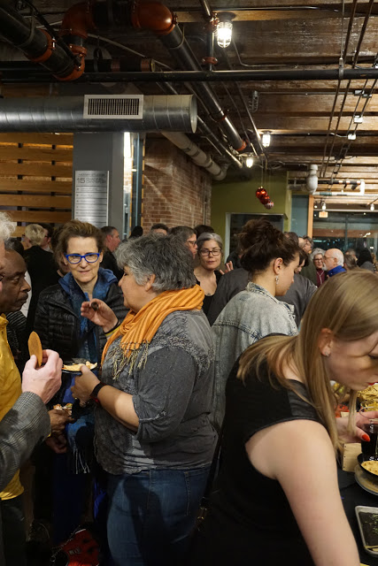 The crowd at the 10th Anniversary Party. Photo by Mario Avila