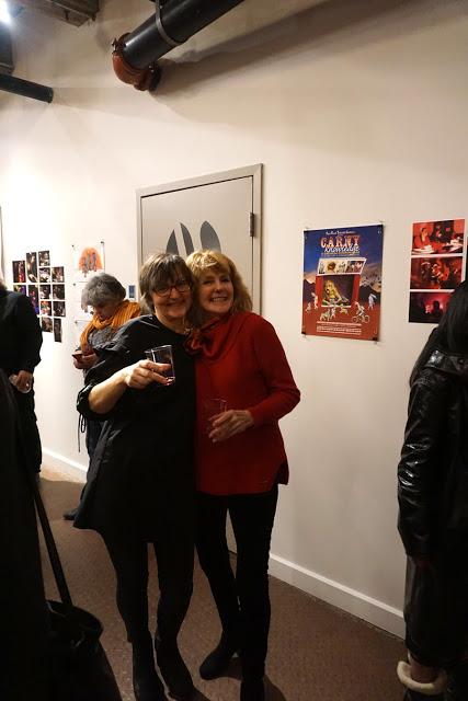Hana Pegrimkova and Sally Nutt. Photo by Mario Avila