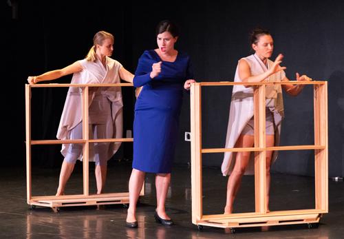 Shura Baryshnikov, Anna Ward, & Danielle Davidson