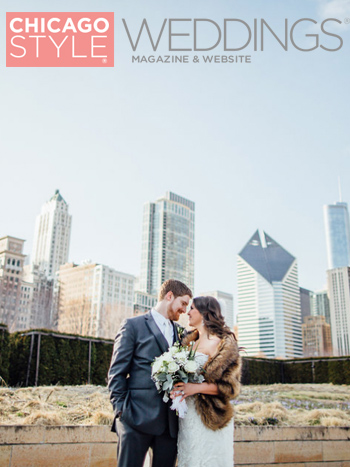 Chicago Style Weddings blog, July 2016