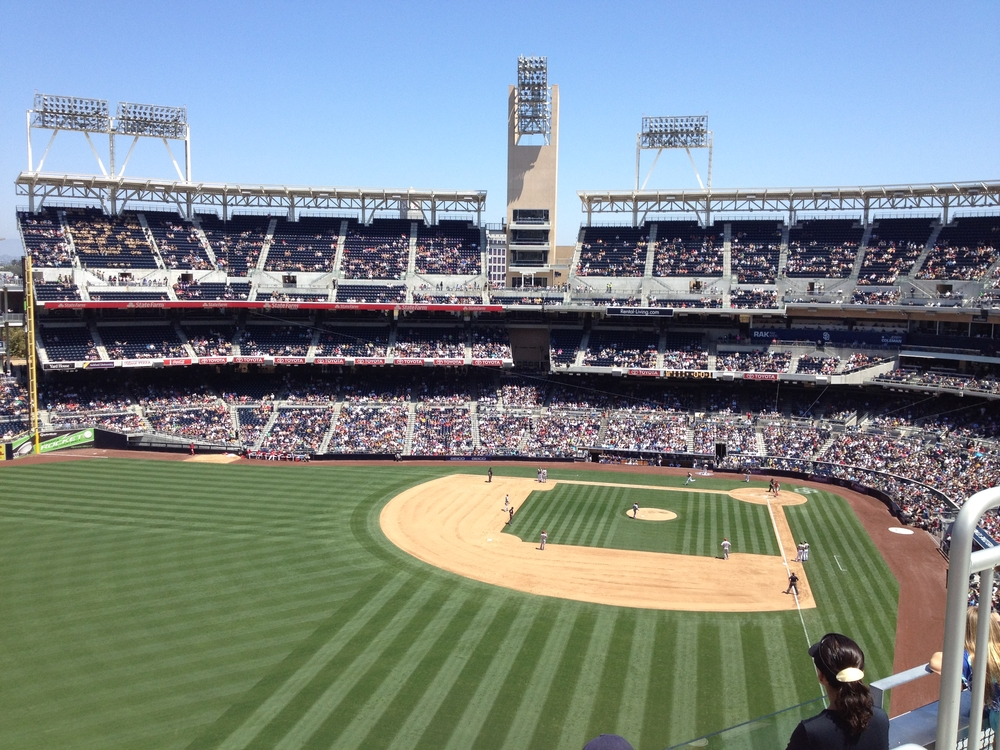 The SKY Team attended the July 8 Padres game in San Diego, California.