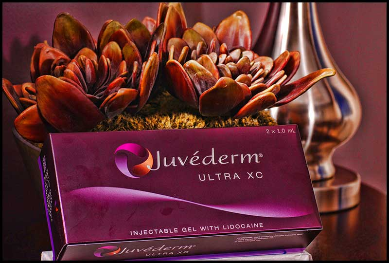 Juvéderm is commonly used for liquid facelifts.