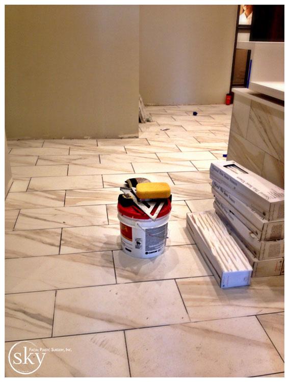 PHOTO: Marble floor.
