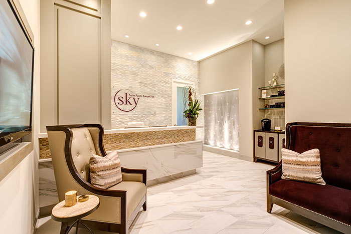 PHOTO: The lobby of SKY Facial Plastic Surgery, located in 4S Ranch, San Diego