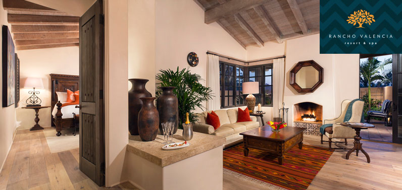 Rancho Valencia's private suite offers luxurious seclusion during your recovery.