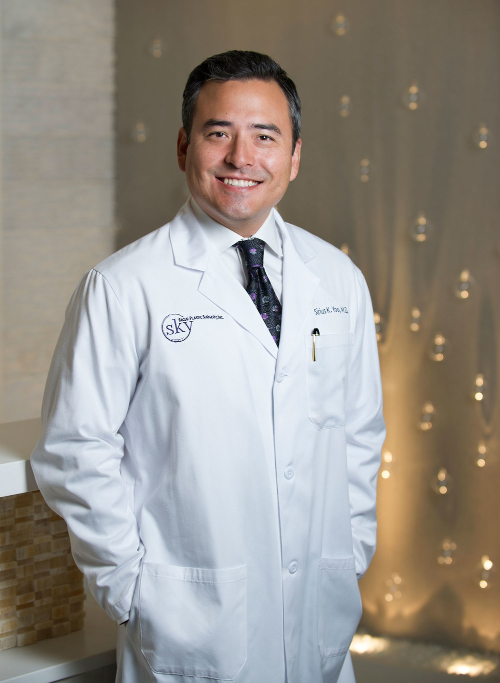 PHOTO: Sirius K. Yoo, M.D. is a double board-certified facial plastic surgeon who specializes in natural-looking results for the face and neck.