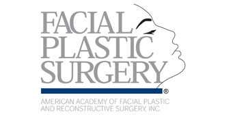 American Academy of Facial Plastic and Reconstructive Surgery logo.